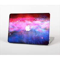 The Vivid Pink and Blue Space Skin Set for the Apple MacBook Air 13""