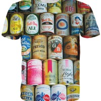 Beer Can T-Shirt