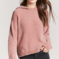 Oversized Chenille Hoodie