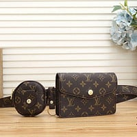 LV Louis Vuitton Monogram Canvas Waist Bag Chest Bag Crossbody Bag