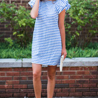 Party By The Water Dress, Blue