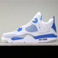 "Duangstyle - Air Jordan 4 ""MILITARY BLUE"" 308497-105"