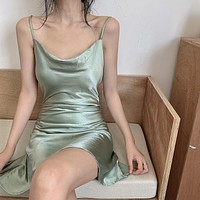 【Final Sale】Sexy Sling Basic Dress