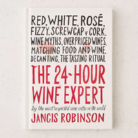 The 24-Hour Wine Expert By Jancis Robinson - Urban Outfitters