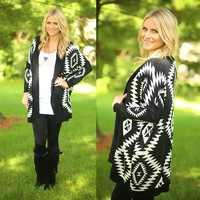 All About The Aztec Cardigan