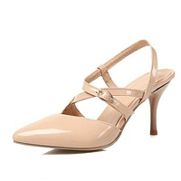 Covered Pointed Toe Tie Up Stiletto Heel Women Sandals 7503