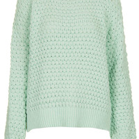 Knitted Bobble Stitch Jumper - Topshop USA