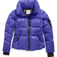Girl's SAM. 'Freestyle' Water ResistantQuilted Down Jacket,