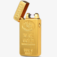 Gold Electric Rechargeable Lighter