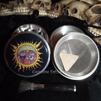 Sublime Sun 4 Piece Herb Grinder with Pollen Screen and Catcher