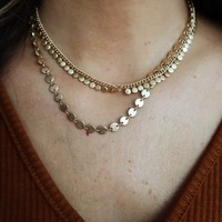 Something Like That Necklace: Gold