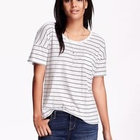 Old Navy Womens Boyfriend Tee