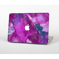 """The Grunge Watercolor Pink Strokes Skin Set for the Apple MacBook Air 13"""""""