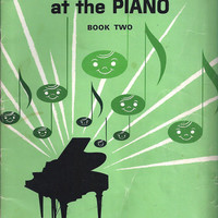 1962 Vintage John W. Schaum Making Music at the Piano Book 2, 48 Pages, Certificate, Quizzes, Scales, Finger Workouts, More, Vintage Music