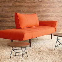 Zeal Deluxe Orange Basic Daybed