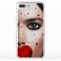 Nevertheless She Persisted - Women's Rights Art - Sharon Cummings Clear iPhone Case by Sharon Cummings