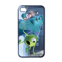 Monster inc v.4 for Iphone 4 or 4s case gift idea new by DK.