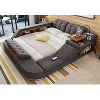 Fabric Cloth  Modern Soft Beds For Home Bedroom Furniture