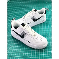 Nike Air Force 1 Low Af1 White/black Sport Shoes