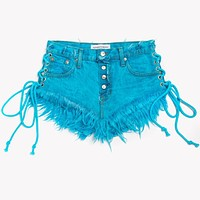 Lace Up Wildest Skyy Babe Shorts