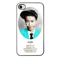 KPOP EXO MEMBER XOXO IPHONE4 CASE (SUHO)