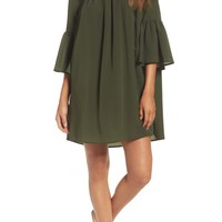 French Connection Polly Plains Shift Dress | Nordstrom