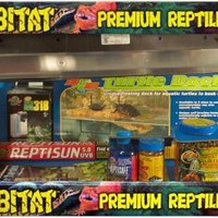 Zoo Med ReptiHabitat Aquatic Turtle Tank Kit 20 Gallon