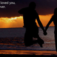 If a hug represented how much I loved you - Love Quotes for her