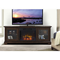 Verona TV Stand with Electric Fireplace - Sears