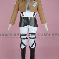 Custom Armin Cosplay (Recon Corps) from Attack On Titan - Tailor-Made Cosplay Costume