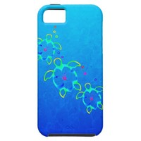 3 Tie Dyed Honu Turtles iPhone 5 Case from Zazzle.com