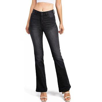 Control Bell Bottom Jeans