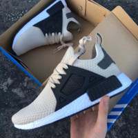 """Adidas"" NMD XR1 Duck Camo Women Men Running Sport Casual Shoes Sneakers Camouflage Camel(White soles )"