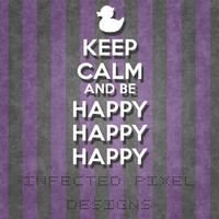 Duck Dynasty HAPPY HAPPY HAPPY Decal  - Your Choice of Color