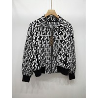 Fendi Women Zip Up Jacket .