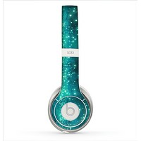 The Trendy Green Space Surface Skin for the Beats by Dre Solo 2 Headphones