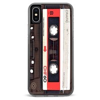 Red Vintage Tape iPhone XR case