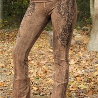 Mineral Up Yoga Pants Brown
