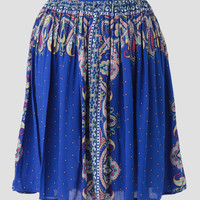Well Traveled Printed Skirt