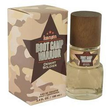 Kanon Boot Camp Warrior Desert Soldier Eau De Toilette Spray By Kanon