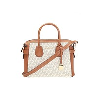 Original Michael Kors Mercer White Mercer Shoulder Bag