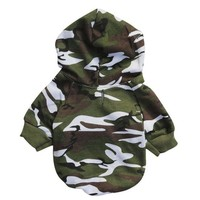 Puppy Pet Dog Clothes winter Camouflage Sweatshirts dog clothes for small dogs Summer