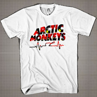 Arctic Monkeys  Mens and Women T-Shirt Available Color Black And White