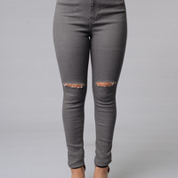 Overcast Jeans - Grey