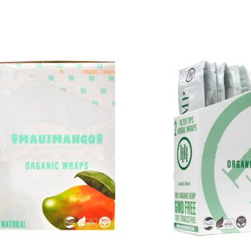 High Hemp Original + Mango Wraps (50 wraps)