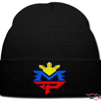 Manny Pacquiao MP beanie knit hat