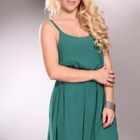Dark Green Scoop Neck Spaghetti Straps Fashionable Dress @ Amiclubwear sexy dresses,sexy dress,prom dress,summer dress,spring dress,prom gowns,teens dresses,sexy party wear,women's cocktail dresses,ball dresses,sun dresses,trendy dresses,sweater dresses,t