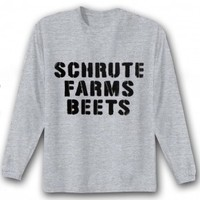 The Office Schrute Farms Beets Long Sleeve T-Shirt
