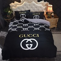 Fashionable Black Designer Bedding Sets