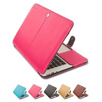 Mosiso for Macbook Air 13 11 PU Leather Sleeve Cover Case Mac Book Air 11.6 13.3 inch Tablet Accessary Cover A1369 A1466